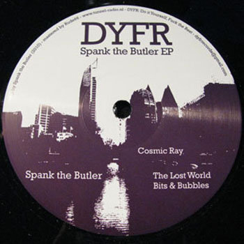 DYFR002 - Spank The Butler - Spank The Butler Ep