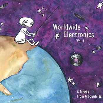 Vinyl Cover Worldwide Electronics compilation